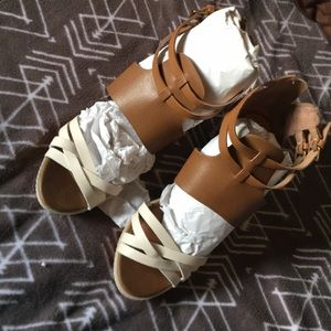 Women's Dolce Vita Bone Leather wedges